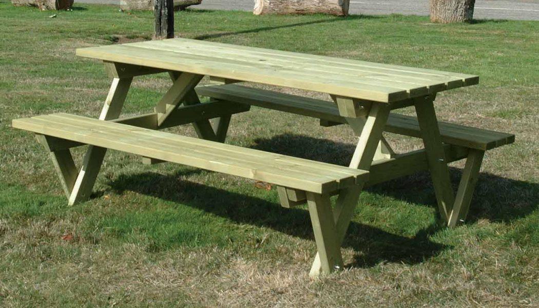 'A' Frame Table