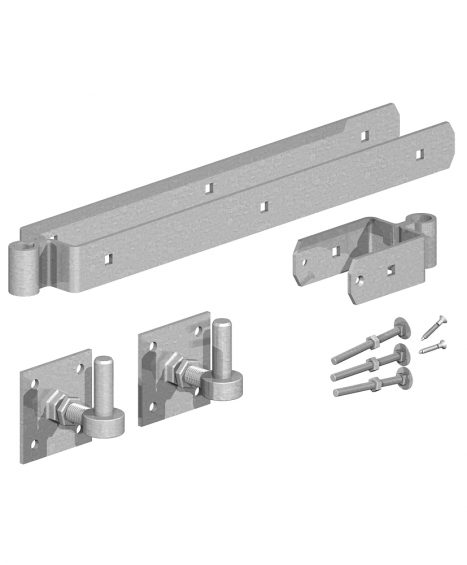 Adjustable Hinge Sets with Hooks on Plates