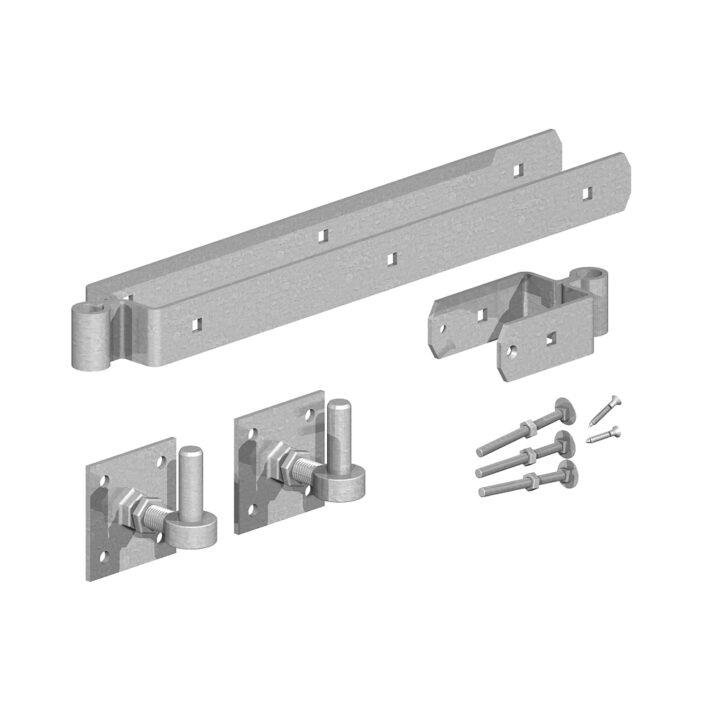 Adjustable Hinge Sets with Hooks on Plates