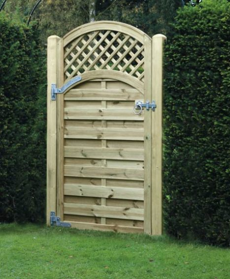 Arched Lattice Top Gate