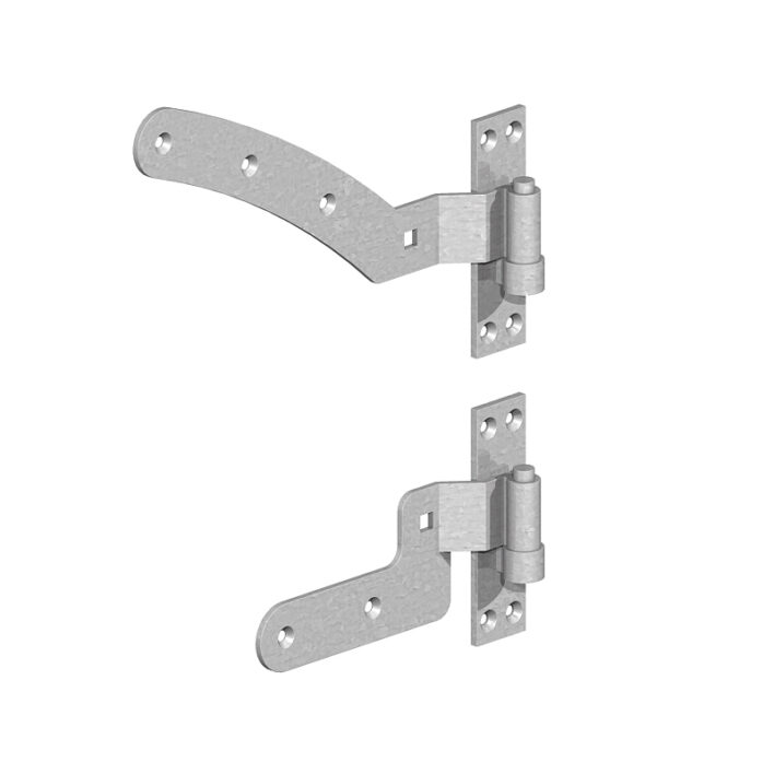Curved Rail Hinge Sets – Handed