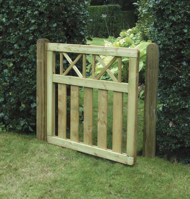 Elite cross top gate garden gates ashford kent