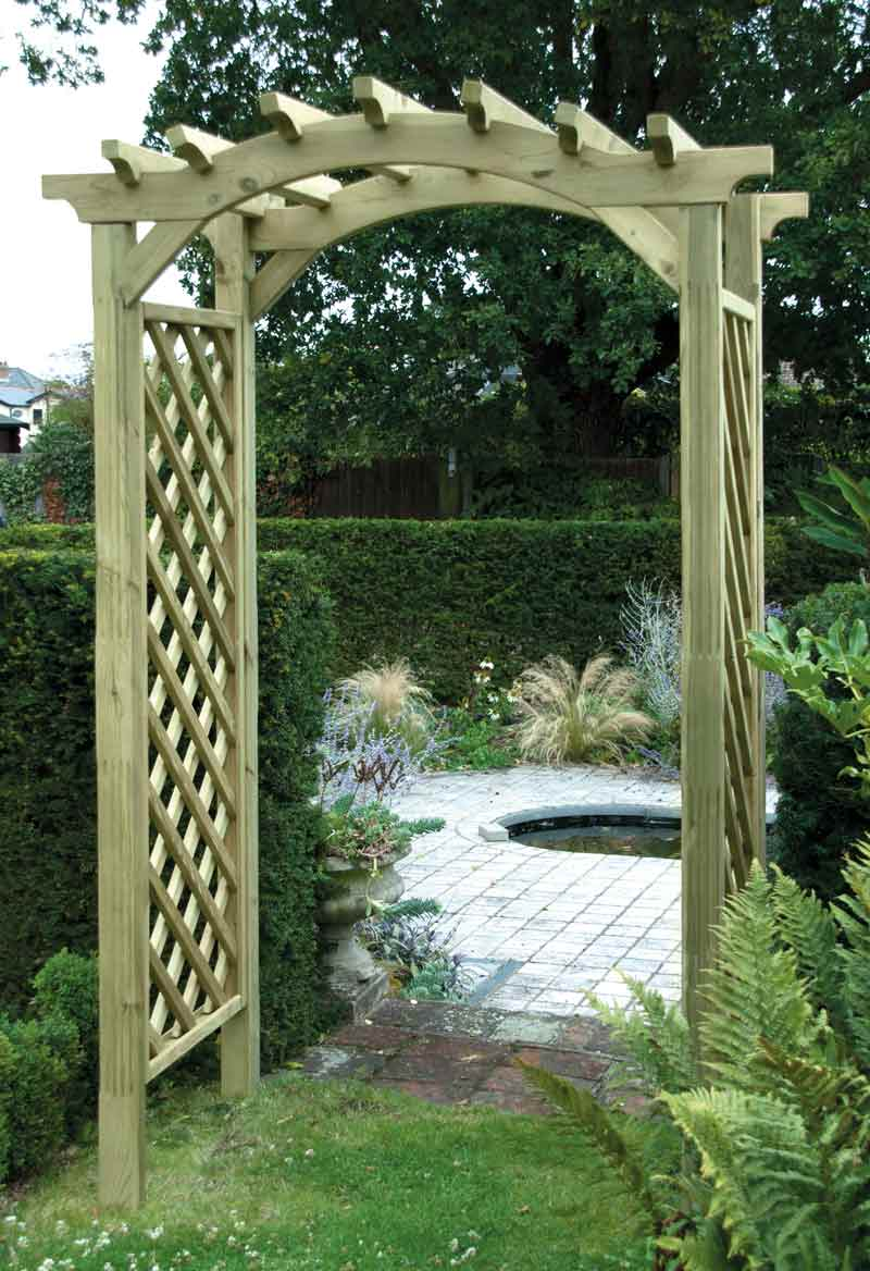 elite omega top arch arbours and arches garden ashford kent