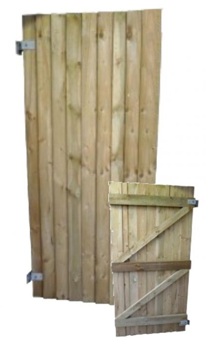 Featheredge Board Flat Gate