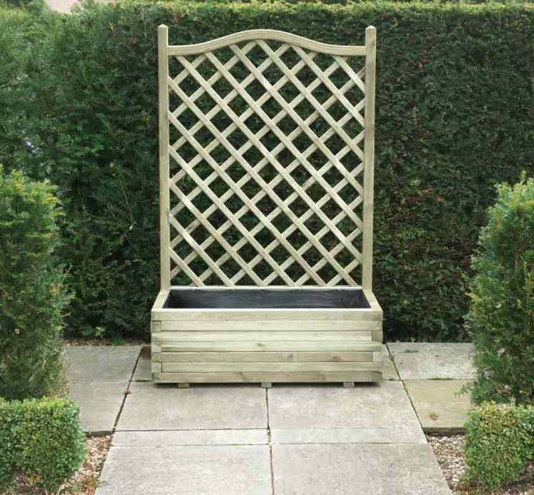 Planter and Trellis