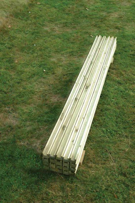 Repair Kit Slats Timber Posts Timber Fencing Ashford Kent