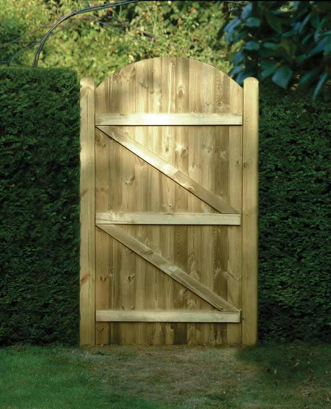 Tongue & Groove Gate - Garden Gates