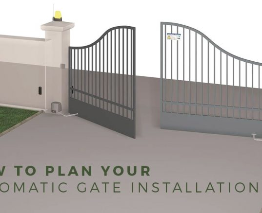 How to Plan Automatic Gate Installation