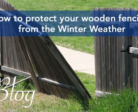 How to protect your wooden fencing from the Winter Weather