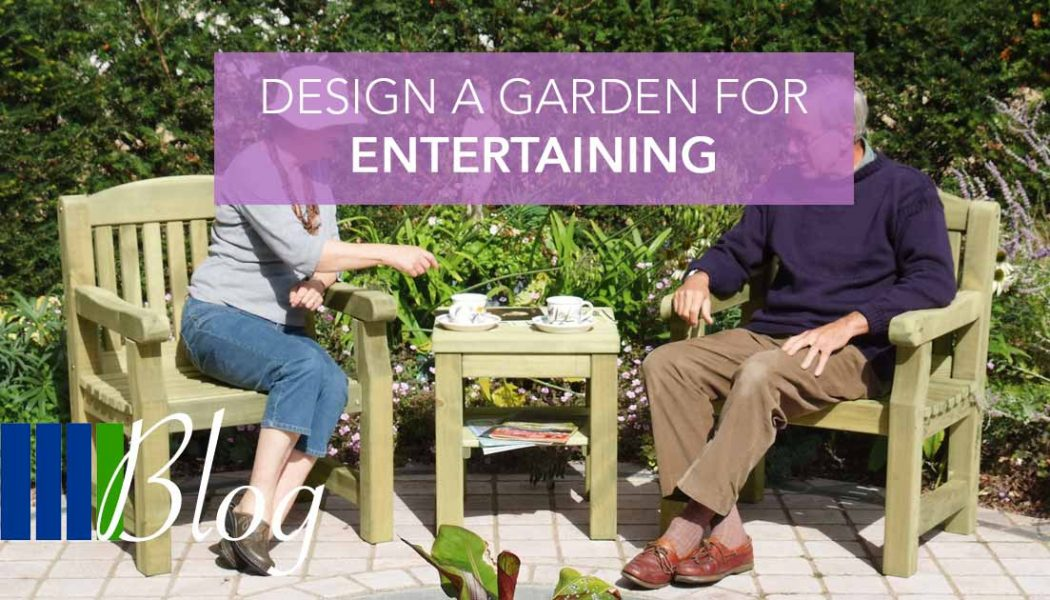 Design A Garden For Entertaining