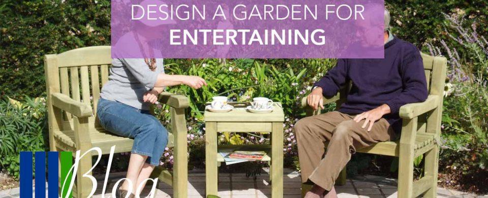 Design A Garden For Entertaining