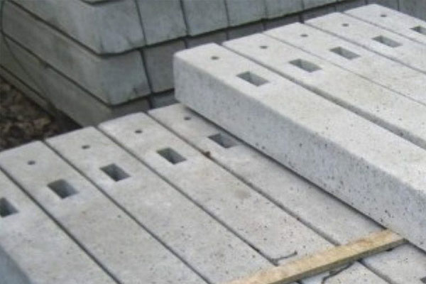 Concrete Morticed Post Supplies