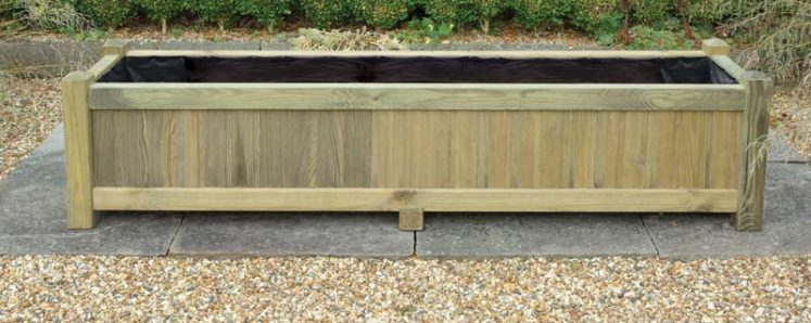 Long Rectangular Planter