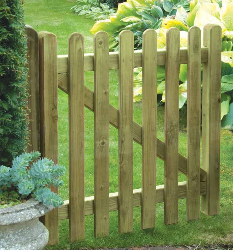 Premium Picket Gate - Garden Gates