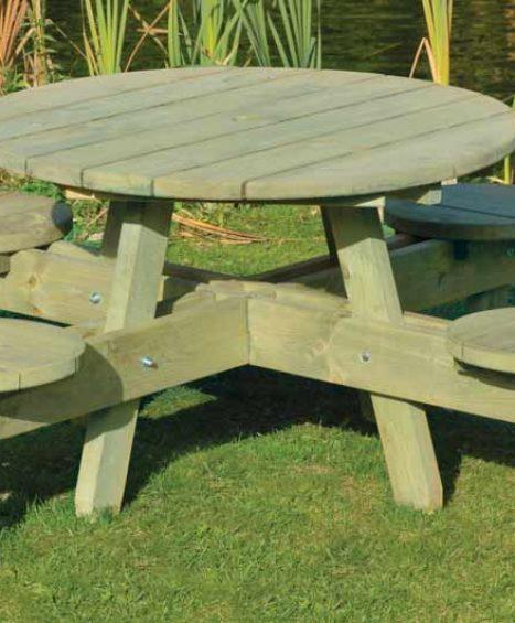 Round Table & Round Seat