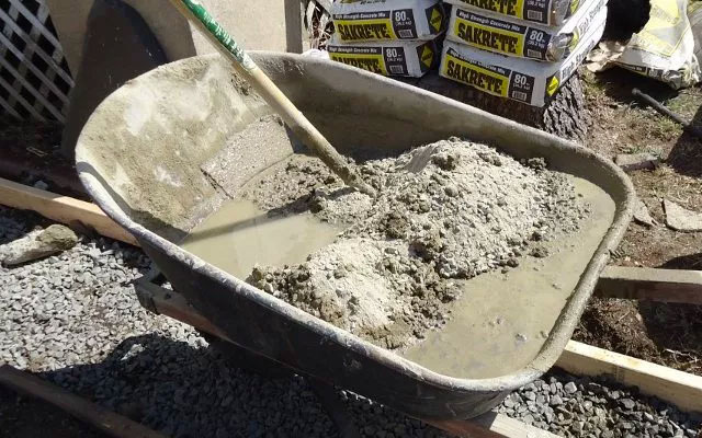 Fencing Ballast Mix Aggregate