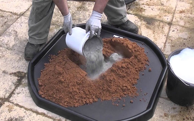 Fencing Cement Mix Aggregate