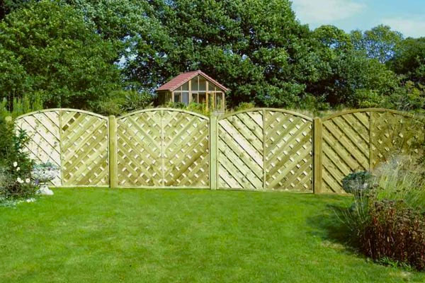 Timber Fence Panels in Ashford, Kent