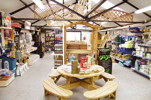 Timber Fencing Shop in Ashford Kent
