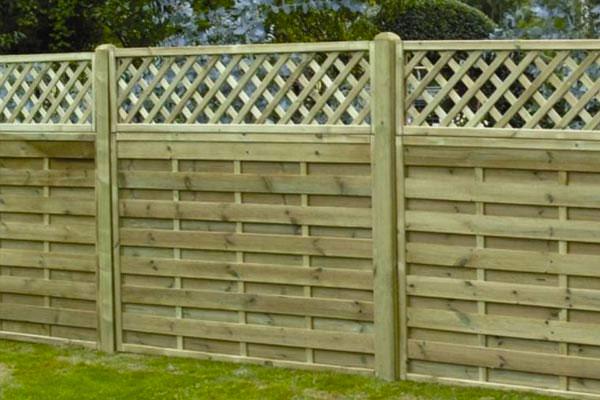 Timber Panel and Lattice in Ashford, Kent