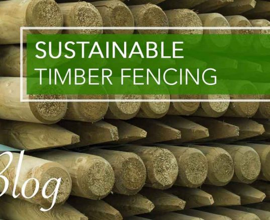 Sustainable Timber Fencing
