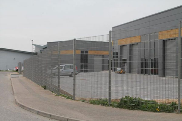 Commercial Security Fencing in Kent