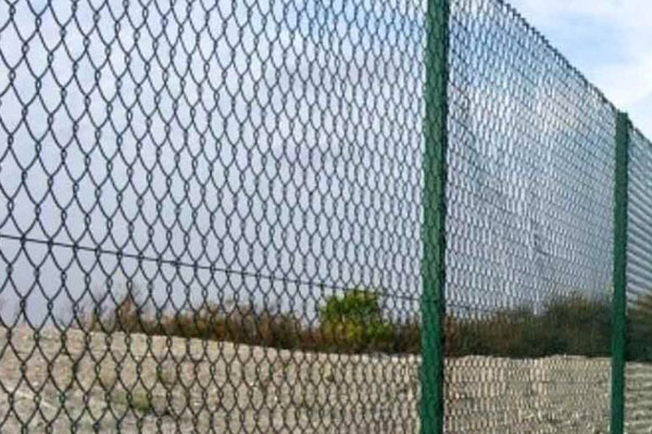 Green Chainlink Security Fencing in Kent