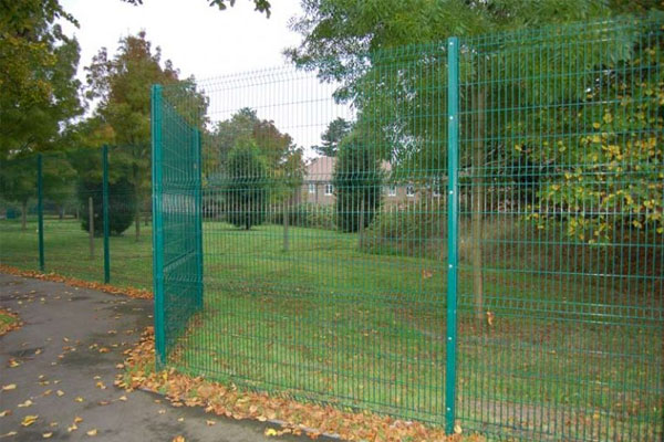 Residential Security Fencing in Ashford Kent
