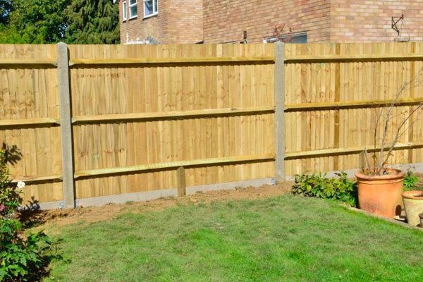 Featheredge Timber Fencing in Ashford Kent