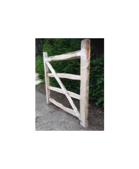 Cleft Chestnut 4 Bar Gate