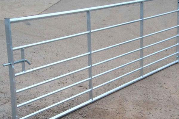Field Yard Metal Gates in Ashford, Kent