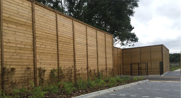 Acoustic Fencing Suppliers Timber Stock Fencing Four