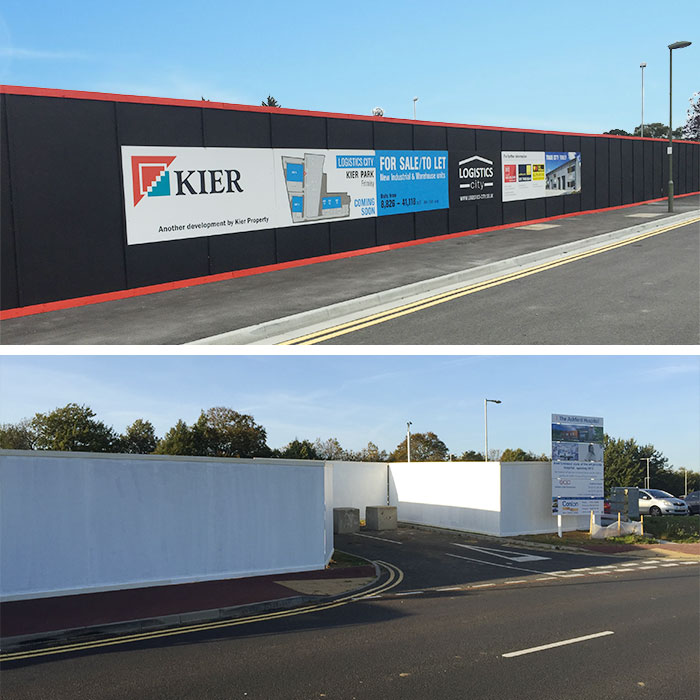 Site Hoarding Installation in Kent