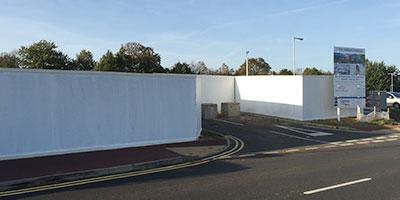 Site Hoarding Kent