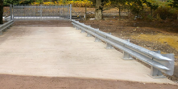 Armco Safety Barrier for Railways