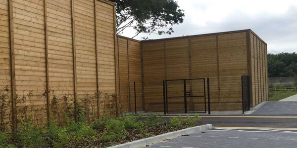 Acoustic Fencing Installation