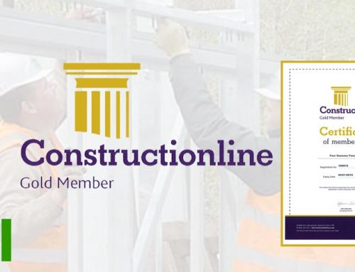 Four Seasons Fencing Achieves Gold Constructionline Membership