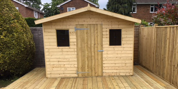 Sheds in Kent