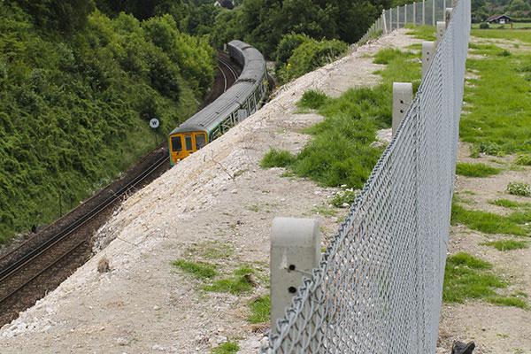 Railway Chainlink Installation Fencing Kent
