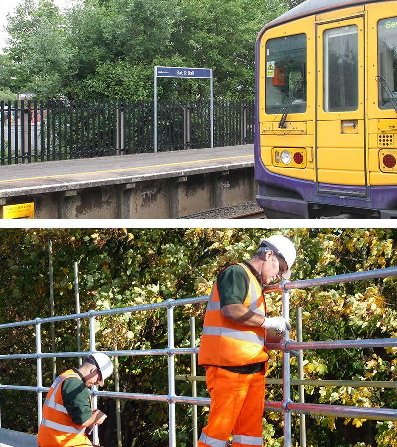 Railway Fencing Installation in Kent
