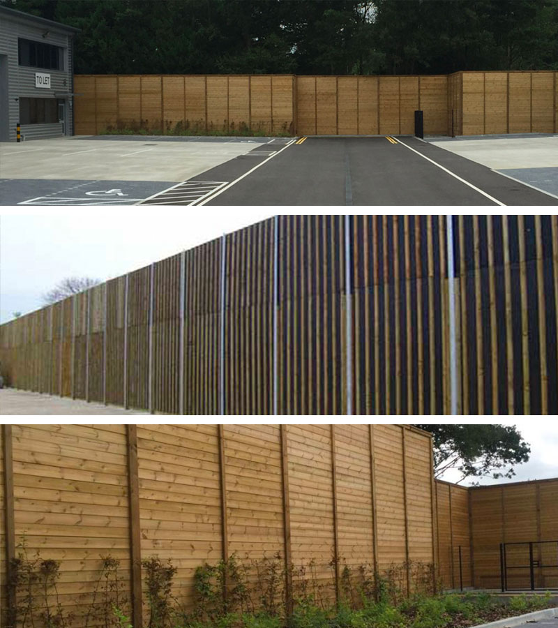 Acoustic Fencing Installation in Kent