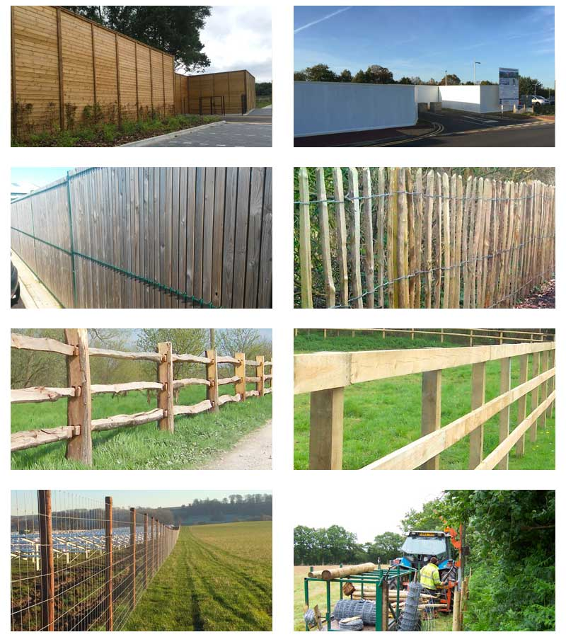 Timber Fencing Installation in Kent