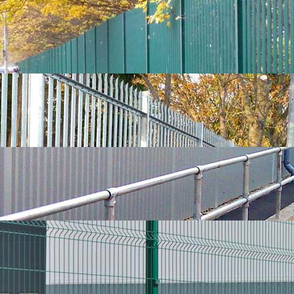 Metal Fencing in Kent